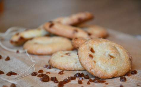Biscuits croquants à l'amande et aux éclats de salidou