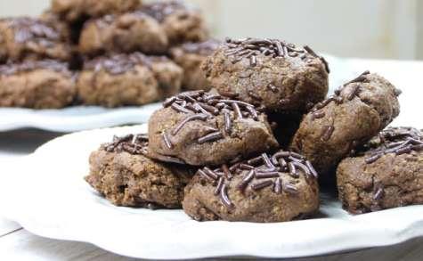 Cookies aux flocons d'avoine et au chocolat, pour un goûter allégé...