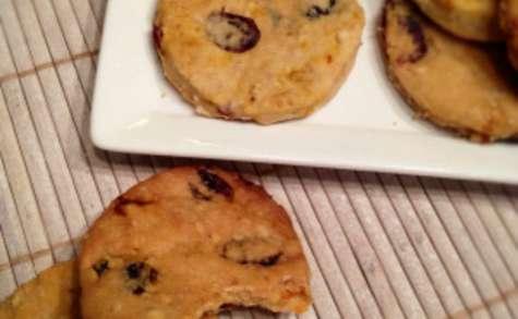 Biscuits aux baies : goji et cranberry