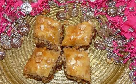 Baklava aux noix