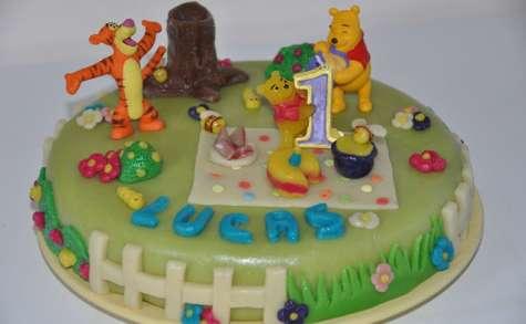 Gâteau Winnie 3D