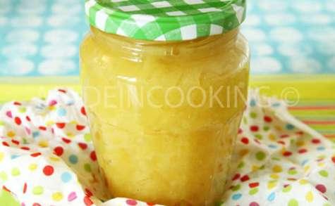 Compote de pommes maison