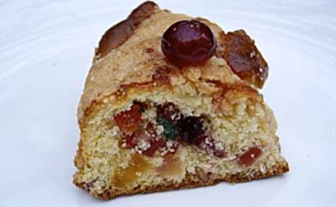 Brioche des rois de Provence aux fruits confits, et son craquelin