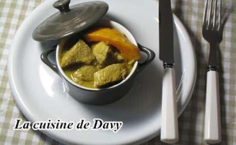 Curry de porc et potimarron