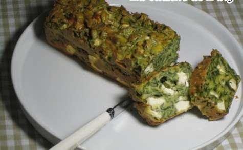 Cake fêta - épinards