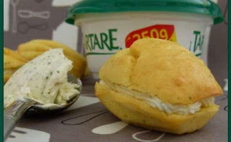Mini-Madeleines apéritives au Tartare