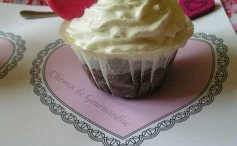 Cupcakes chocolat gingembre & Chantilly
