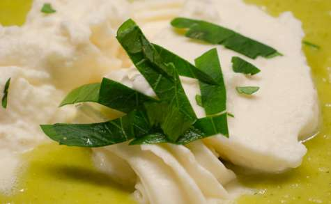 Velouté de panais au curry et lait de coco