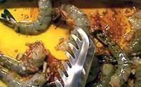 Langoustines et gambas grillées