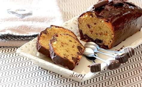 Cake au chocolat, pistaches et Baileys