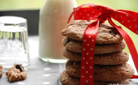 Les Cookies double chocolat de Julia