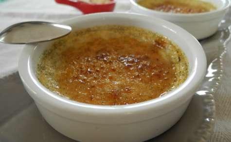Crème brûlée très vanillée au tofu soyeux