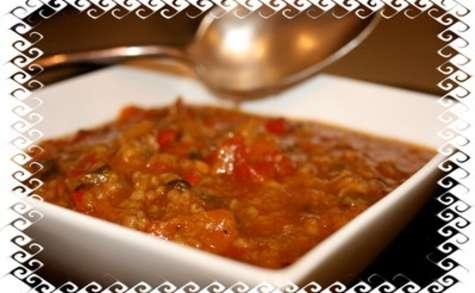 Soupe saveurs couscous