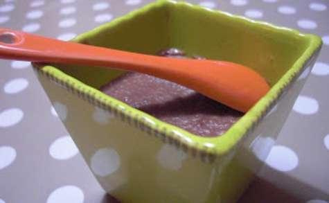Crème cacaotée et biscuitée