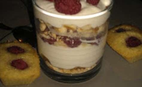 Simili cheesecake en verrines