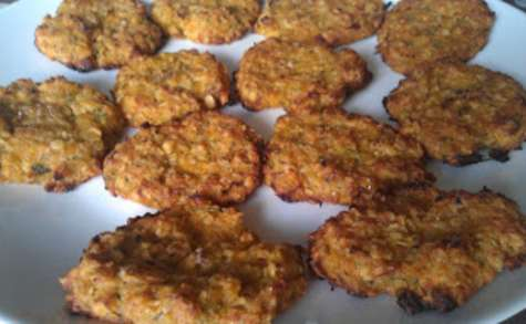 Cookies de légumes
