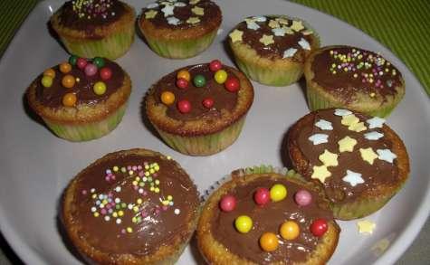 Mini cupcakes au nutella
