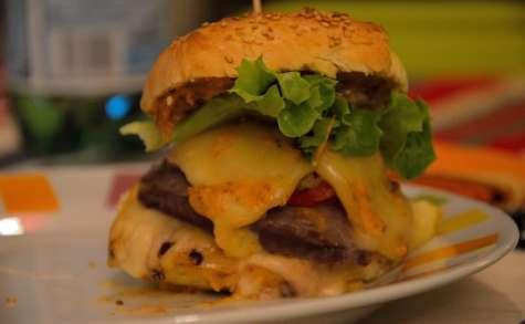 Burgers Raclette et Morbier
