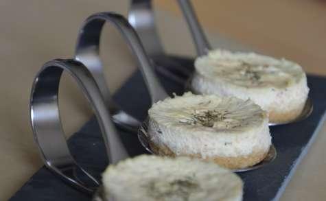 Minis cheesecakes au saumon fumé