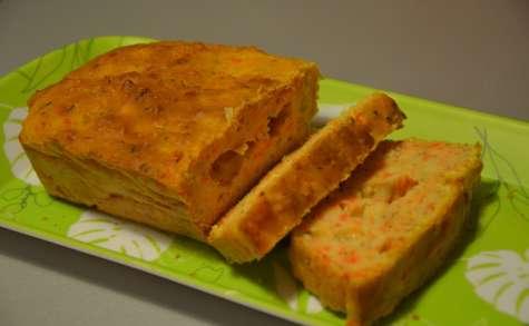 Terrine de carottes à la coriandre façon gâteau yaourt