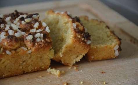 Cake sans oeuf à la compote de pommes