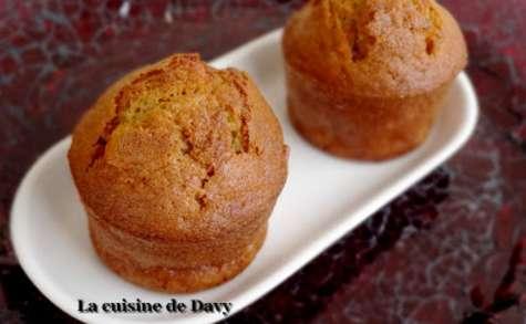Muffins à la pomme et sirop d'érable