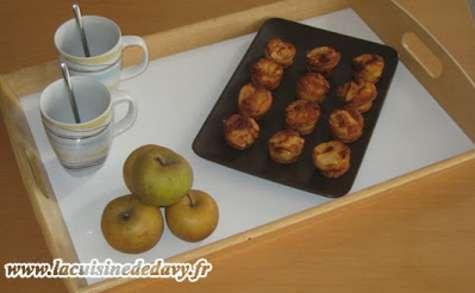 Delices aux pommes
