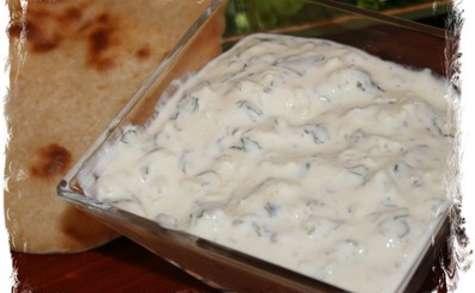 Sauce blanche au concombre