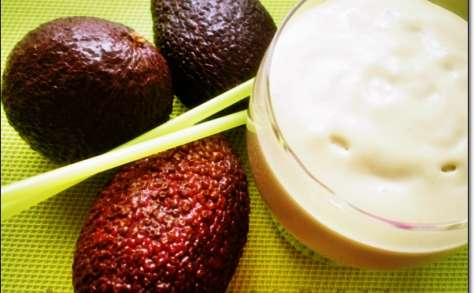 Jus d'Avocat / Milk Shaque à La marocaine