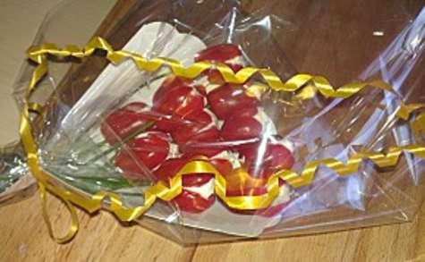 Bouquet de tomates cocktail au saint moret