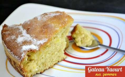 Gâteau au yaourt et pommes bio