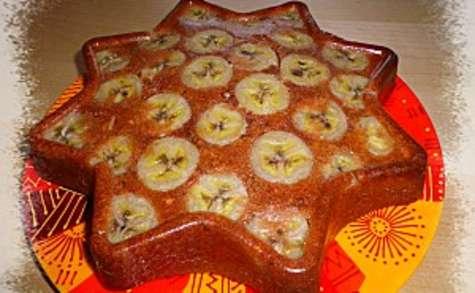 Gâteau léger chocolat bananes