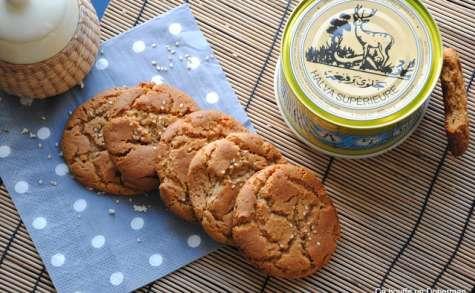Cookies moelleux à l'Halva Vanille
