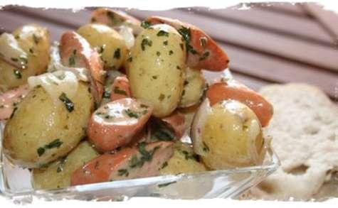 Salade de pommes de terre grenaille