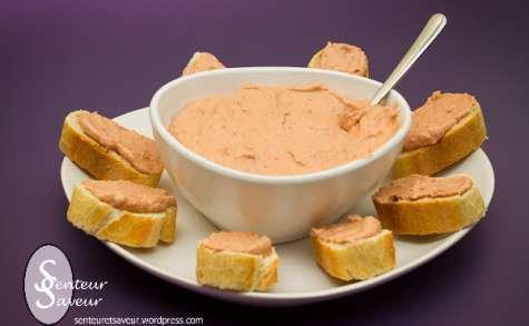 Tartinade de thon aux tomates séchées