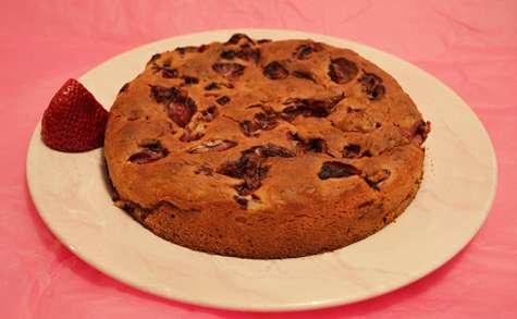Gâteau Ricotta aux Fraises