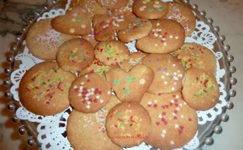 Les petits biscuits à la vanille