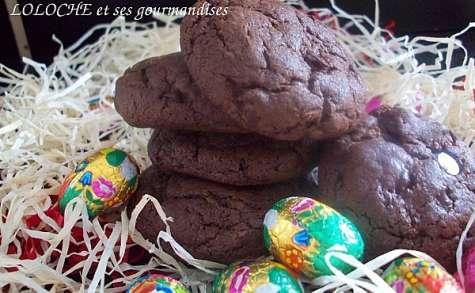 COOKIES DOUBLE CHOCOLAT