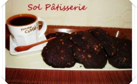 Cookies au chocolat crunch
