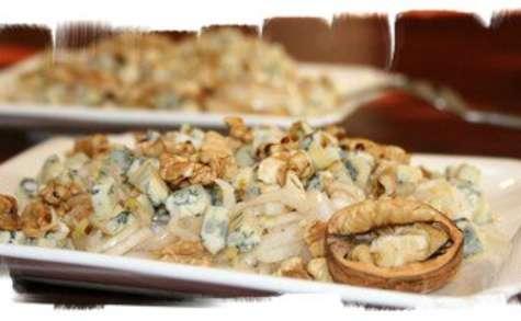 Salade d'endives aux noix & bleu