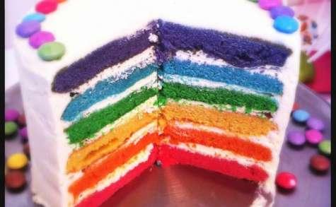 Le gâteau aux milles couleurs de Chabichou