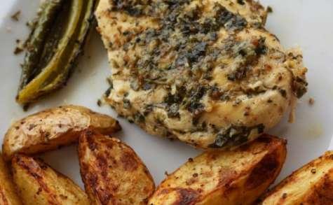 Filet de poulet à la coriandre et au citron vert
