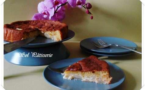 Gâteau très moelleux aux poires et à l'amande
