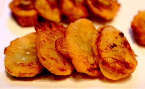 Tempuras de bananes