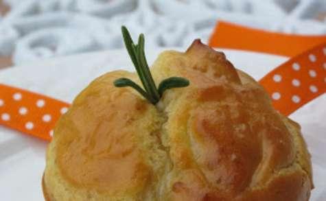 mini cake au gorgonzola, miel et romarin