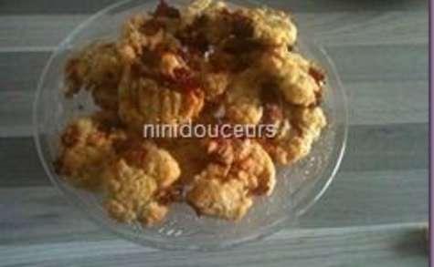 Cookies chorizo comté tomate séchées