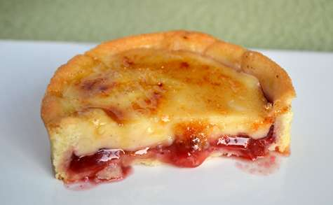 Tartelettes catalanes à la framboise