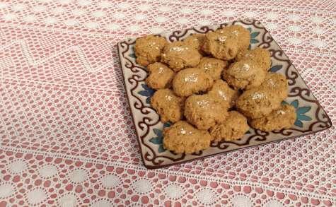 Biscuits épicés aux carottes et flocons d'avoine