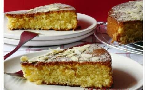 Gâteau au beurre et aux amandes