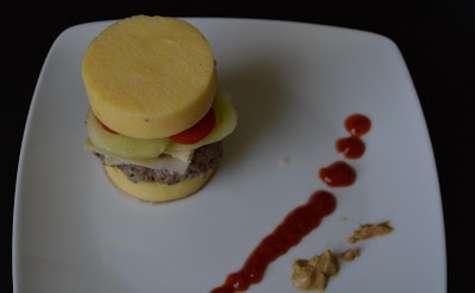 Hamburger de Polenta